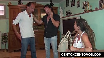 Daniela di Ladispoli and the Chubby! Orgy and DP! CentoXCento 12 min