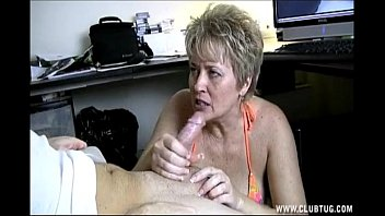 Mature naughty - Naughty shorthaired blonde milf with a dirty and cockhungry mouth