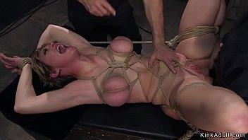Huge tits Milf anal gangbang bdsm