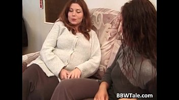 Three cute chubby chicks play with her