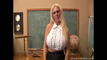 Older women saggy breasts - Busty old spunker teaches you how to fuck her massive tits