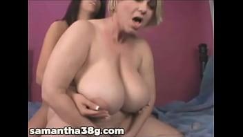 BBW Superstar Samantha 38G Licks Amateur Babes Pussy