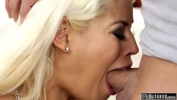 Guy fucks his dads big tits trophy wife