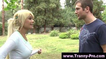 Tgirl ladyboy blowjob action 5 min