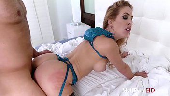 Blackmailed MOM gets some from SON- Cherie Deville