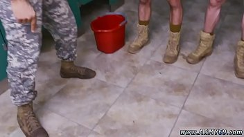 Tight gay pants Military men in tight white pants gay good anal training