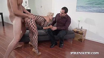 Swing wife cum fuck - Milf nikyta enjoys hard anal while her husband watches