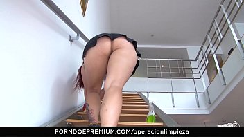 Operacion Limpieza - Pov Fuck With Redhead Colombian Cleaning Lady Elisa Odiosa