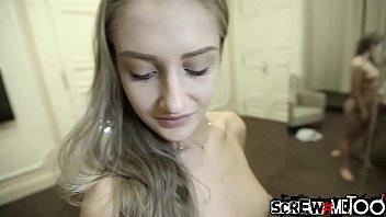 SCREWMETOO Fuck Angel Teen Tiffany Tatum Stuffed By Big Dick
