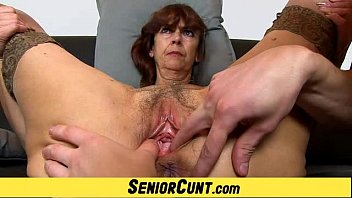 Open hairy vagina - Grandma lada a zoomed old hairy vagina fingering