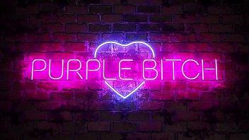 Purple Bitch Mia Bandini Sia Siberia masturbate ass pussy toys lesbian young girl 10 min