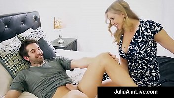 Hot Step Mother Julia Ann Gets Nude & Naughty with Step Son! 11 min