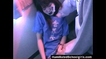 Handcuffed Asian Teen Gets Fucked thumbnail