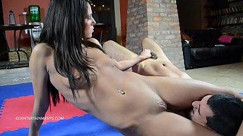 Mixed wrestling blogspot nude Melanie memphis vs. sebastian