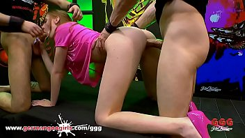 Sweet redhead Linda needs Anal pleasure - German Goo Girls 12 min