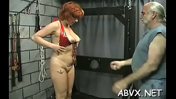 Girls in bondage vids - Exposed wife extreme home porn in rough bondage non-professional scenes