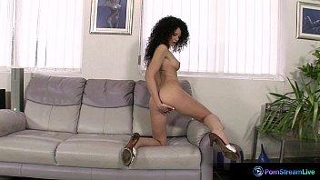 Exotic beauty Rony pleasures herself