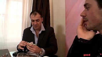 Two rich buddies Double penetrate a Hooker called Colette 22 min