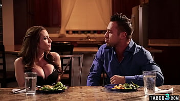 Latina MILF housewife Ariella Ferrera fucked roughly by her husbands bro