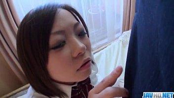 Riko Masaki craves for jizz in her needy mouth thumbnail