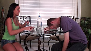 Hogtied Foot Humiliated by Niece