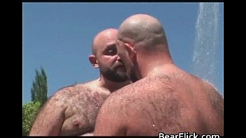 Blowjob sex with hairy bears Andrew gay video