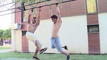 Gay mature men clips free - Gaywire - beefcake studs niko tony breeding on bareback attack
