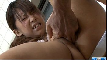 Maki Sakashita big tits teen drilled roughly 12 min