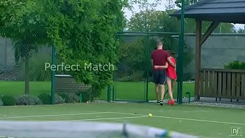 Mrskin.club Tera Link And Ricky Rascal Get Their Morning Workout By Playing Tennis Together