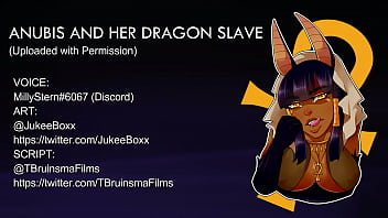 ANUBIS AND HER DRAGON SLAVE ASMR