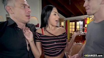 Amazingly Attractive Anissa Kate DP'd by two monster dicks