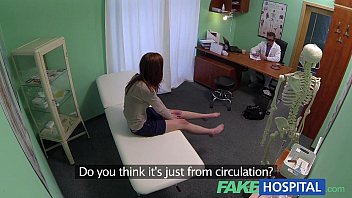 Sweet redheads - Fake hospital innocent redhead gets a creampie prescription