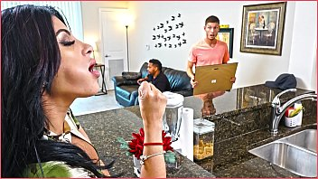BANGBROS - Kitty Caprice Gets Her Latin Big Ass Fucked While Her BF Is Home porno izle