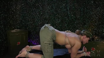 Submissive Ariel X Whipped And Masturbated When Taking A Rough Strapon Fucking from Savannah Fox