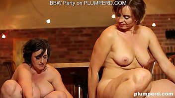 Plump horny mature busty hairy women 2 mature fat ladies enjoying the cleaning boy