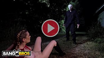 Sexy one shoulder dress Bangbros - kara lee encounters scary villain in the woods