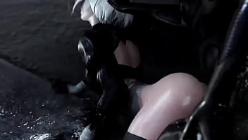 2B Faces A New Kind Of Enemy!