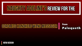 Naughty Adeline – REVIEW: Cordless Handheld Wand Massager from Paloqueth (NSFW)