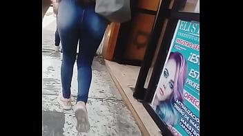 culonas en calle
