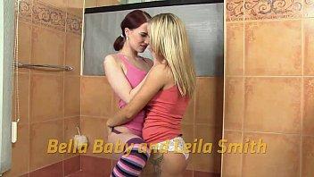 Bella b. soaks her girlfriend in hot piss thumbnail