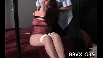 Gal is using a marital-device to make herself cum