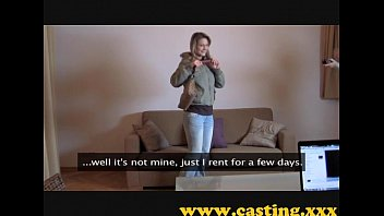 Casting - Time Of The Month For This Babe