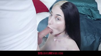 Big Titty Teen Trades Chores For Sex With Her Stepbro