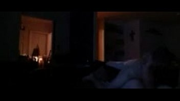 Wife getting fucked by husbands younger friend on his couch