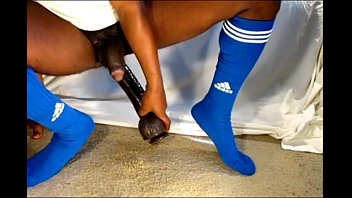 Football gear gay - Black gay dildo soccer football 1