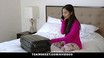 ExxxtraSmall - Tiny Asian Cute Teen Avery Black Fucks BWC for Extra Cash