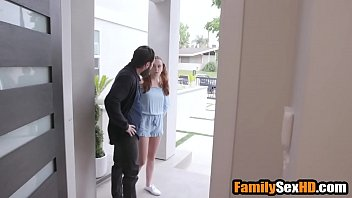 Jealous Step Dad Punishes His Teen Daughter