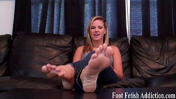 Smothering your face with my feet
