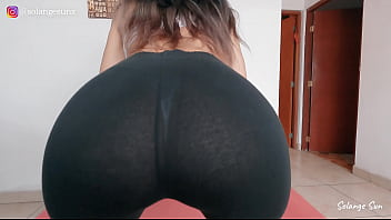 Sexy Asian Teenager Shows You Her Workout Rutine Naked
