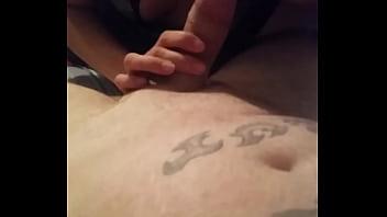Ex edging cum shot